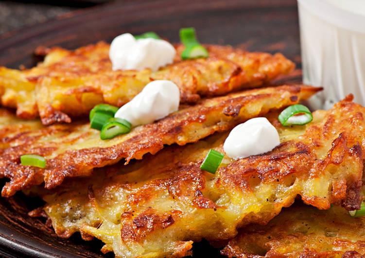 Драники из картошки, рецепт с фото