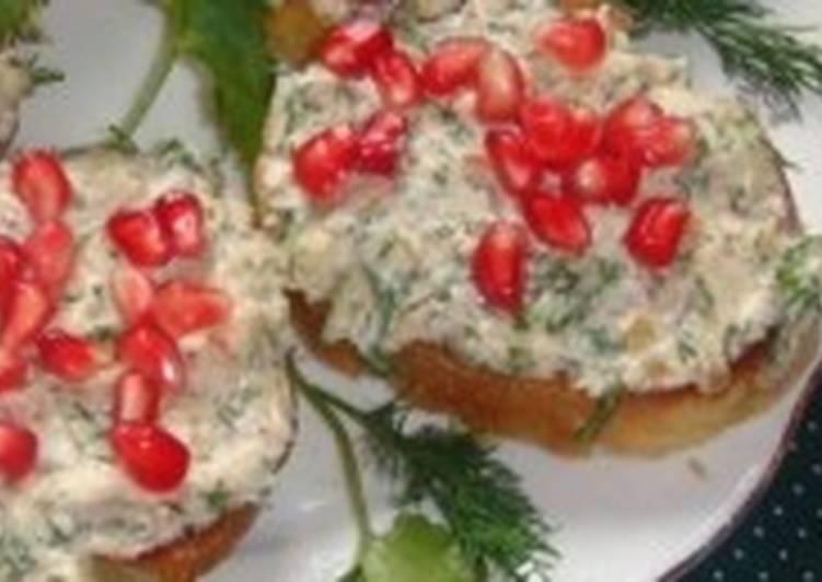 Новогодняя закуска «Праздничная зима»