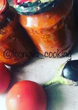 Салат из баклажанов на зиму #заготовки