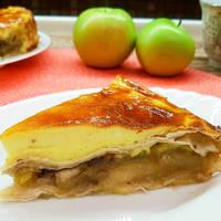 Яблочный пирог в лаваше #спас