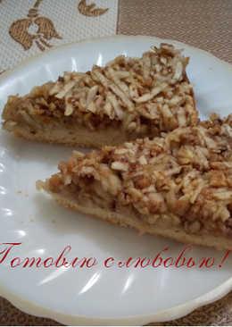 Венгерский ореховый пирог с яблоками 🍏🍎