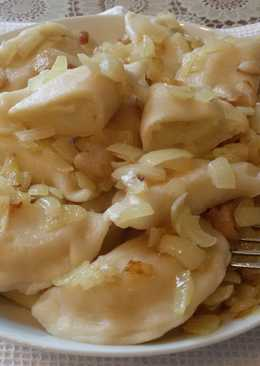 Вареники с картошкой #Кулинарныймарафон