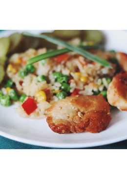 Курица с рисом и овощами 🍛