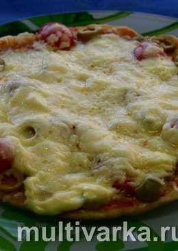 Пицца по-домашнему в мультиварке