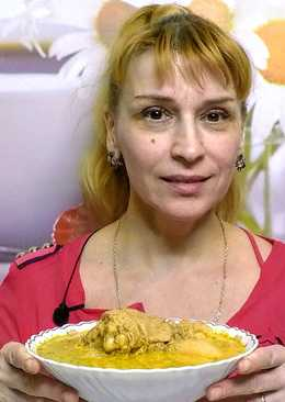 Сациви - тушеная курица в ореховом соусе по грузински
