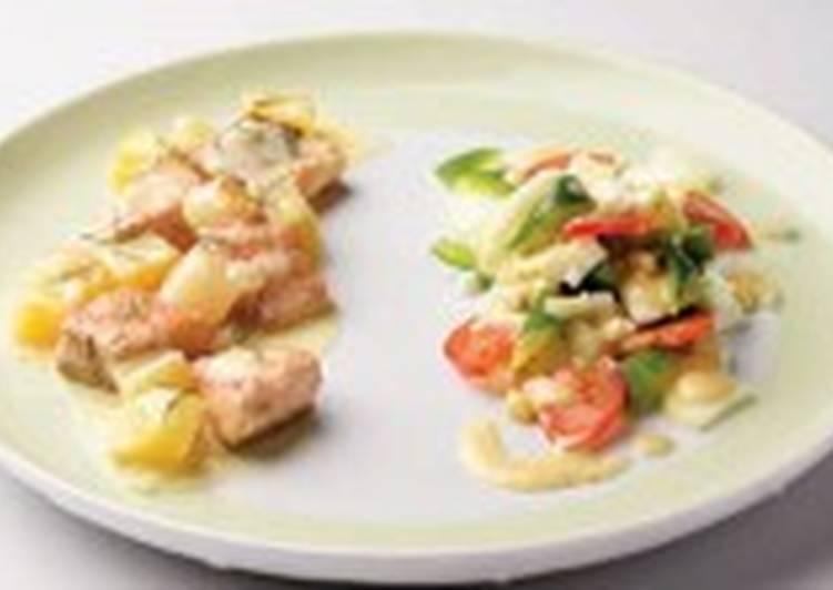 Салат с картофелем и овощами (3)