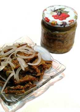 Баклажаны рецепт на зиму. Вяленые баклажаны с семенами подсолнуха