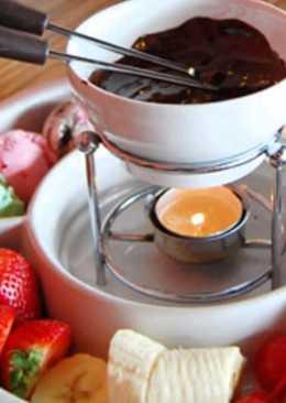 Фондю шоколадное в домашних условиях