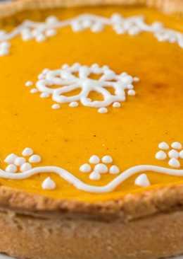 Тыквенный пирог со сгущенкой. Нежнейшая начинка, как облако