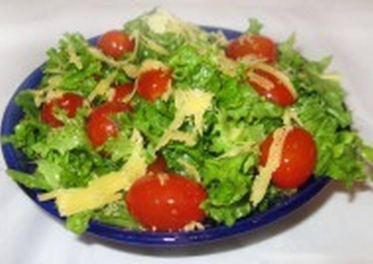 Диетический салат по-французски