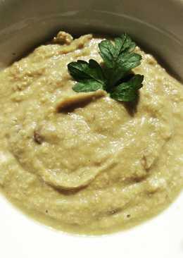 Нутовый суп-пюре с грибами #кулинарныймарафон