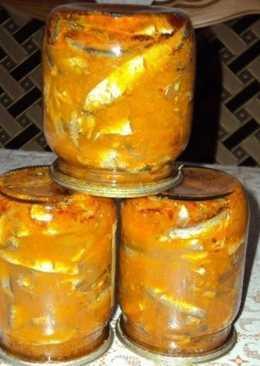 Домашняя килька в томатном соусе