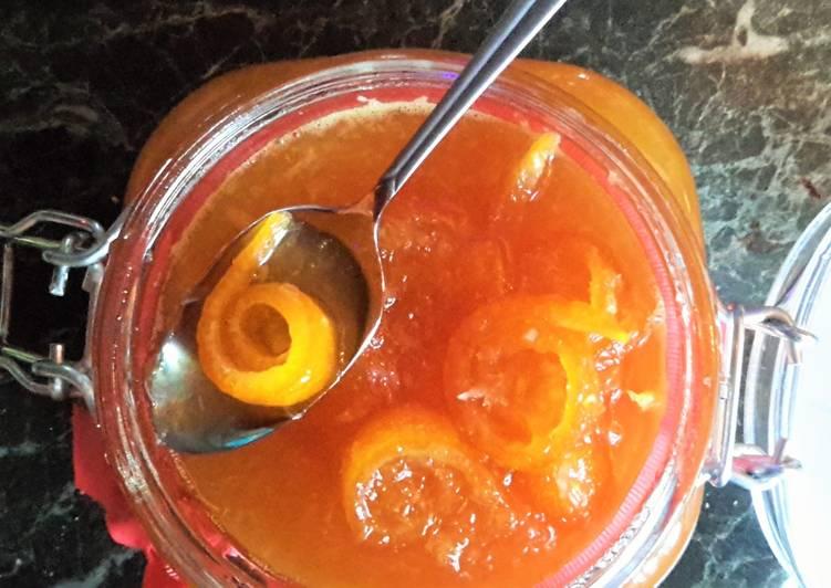 Варенье из апельсиновых корочек (проверено)