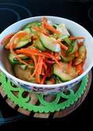 Салат из кабачков свежих