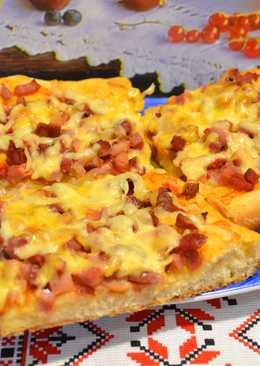 Пицца на дрожжевом тесте, в домашних условиях. Тесто для пиццы