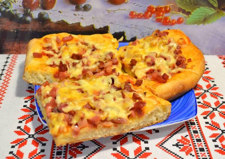 Рецепты пиццы на дрожжевом тесте в домашних условиях