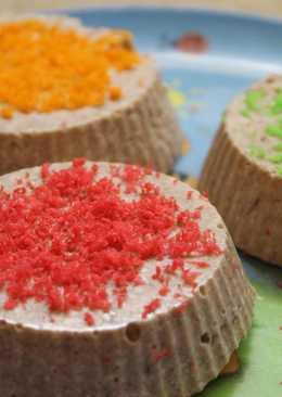 Диетический десерт - творожно-фруктовое суфле