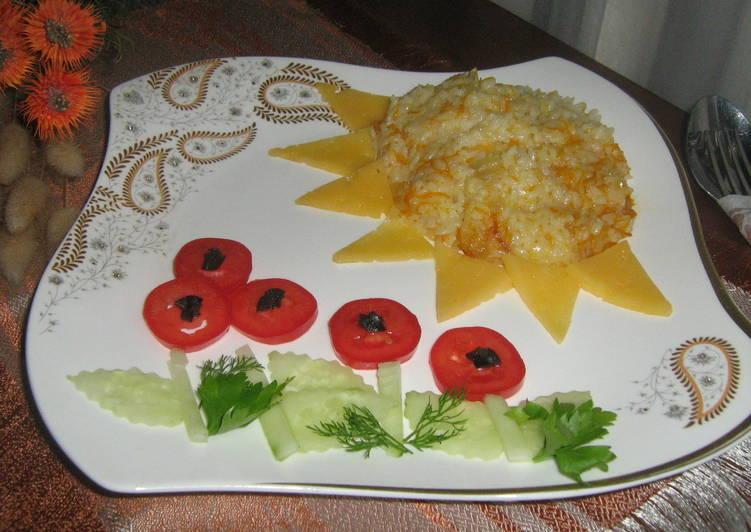 "Детский завтрак ""Солнце и маки"""