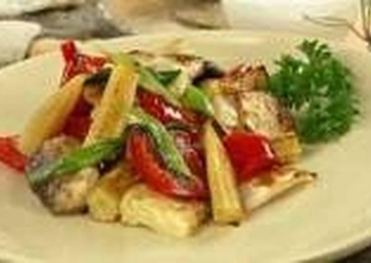 Овощи барбекю для пикника