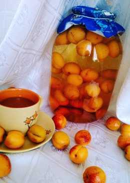 """Компот из абрикосов """"Солнечные зайчики"""" 🤗#заготовки"""