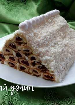 """Торт """"Монастырская Изба"""" - Новогодний рецепт"""