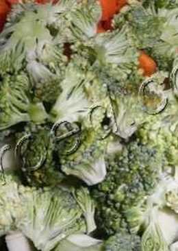 Овощное рагу с мясом запеченное