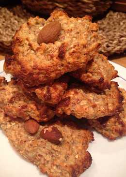 Овсяно-миндальное печенье без сахара и без глютена !#кулинарныймарафон