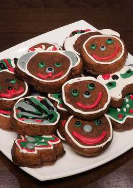 Имбирное печенье на новый год, простой рецепт печенья в мультипекаре
