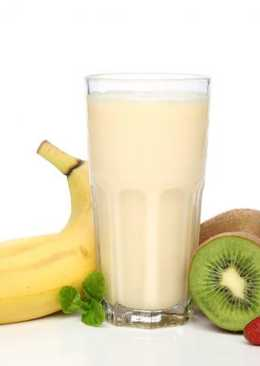 Натуральный молочный коктейль для детей