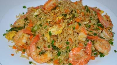 Быстрый Ужин! Как приготовить жареный рис