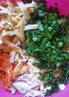 Салат с корейской морковью 😋