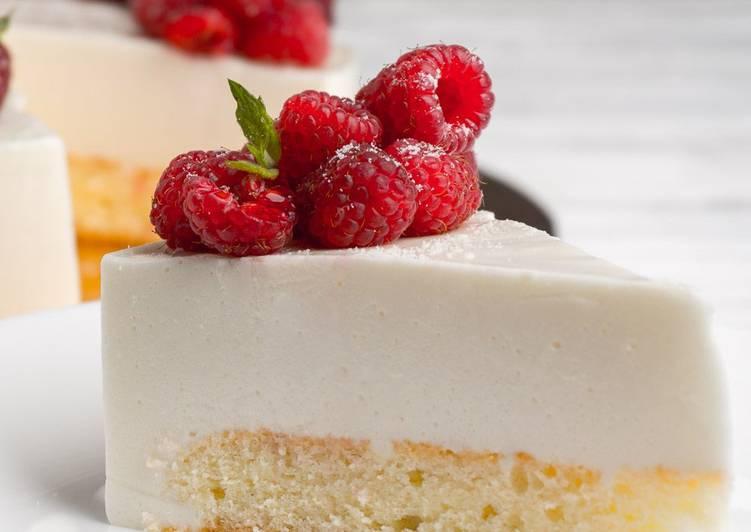 рецепт йогуртового суфле для торта