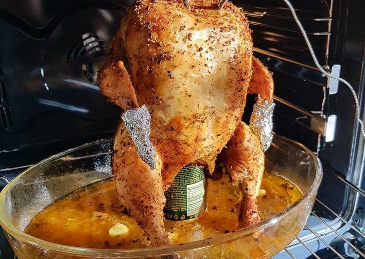 Курица с картошкой на банке