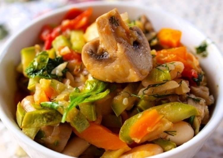 Рецепты горячих блюд из овощей