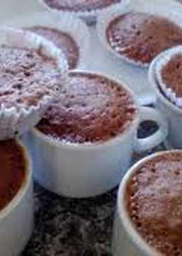 Быстрые и вкусные шоколадные кексы за 5 минут