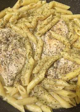 Куриные грудки под горчично-сливочным соусом