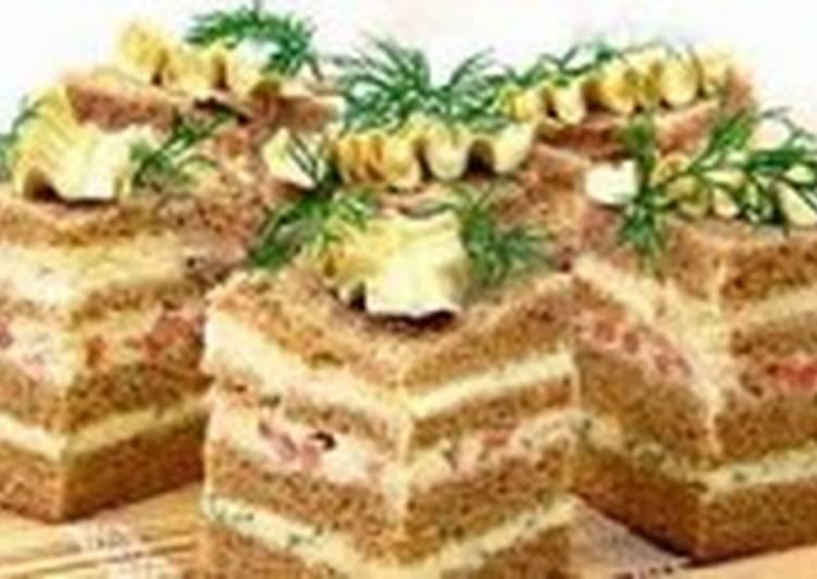 Полосатые бутерброды