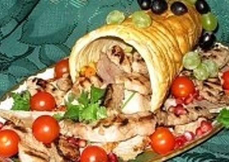 «Рог изобилия» - новогоднее мясное ассорти