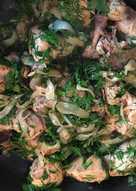 Курица к плову по Азербайджански