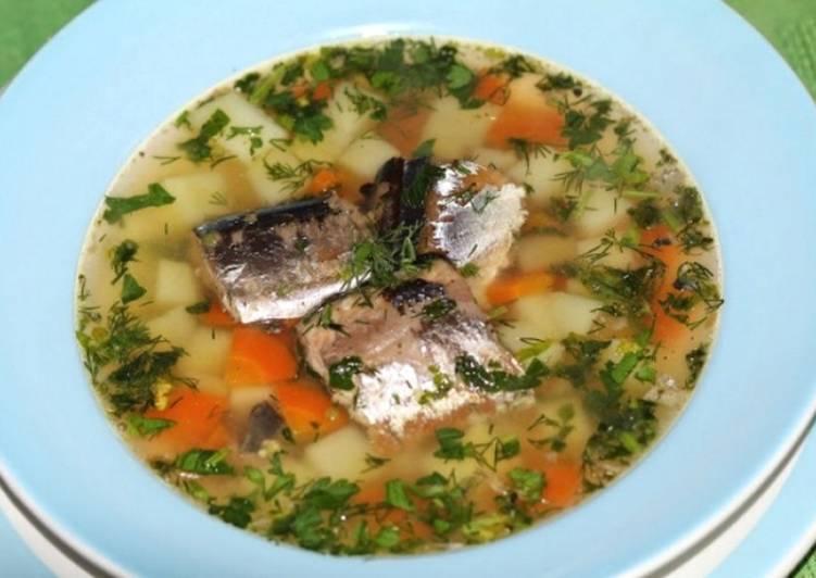 как приготовить вкусную уху из рыбных консервов