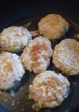 Котлеты куриные с гарниром из картофеля
