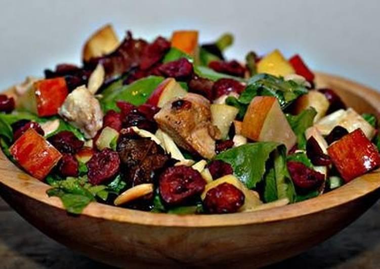 Юбилейный салат с курицей