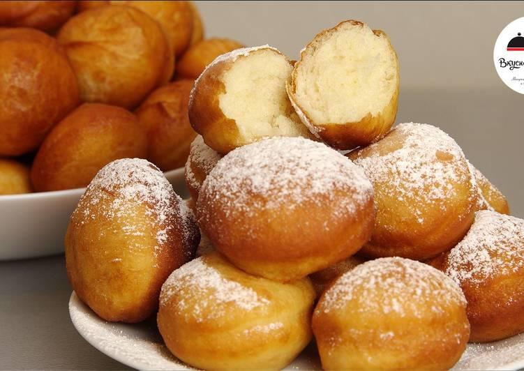 Пончики. Самые вкусные, мягкие, воздушные, как пух! Равнодушных не останется