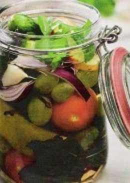 Овощной салат-заготовка