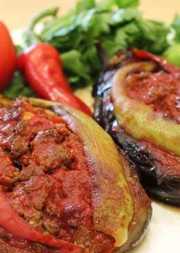 Карныярык. Фаршированные баклажаны. Турецкая кухня