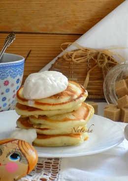 Быстрые оладьи на кефире к завтраку
