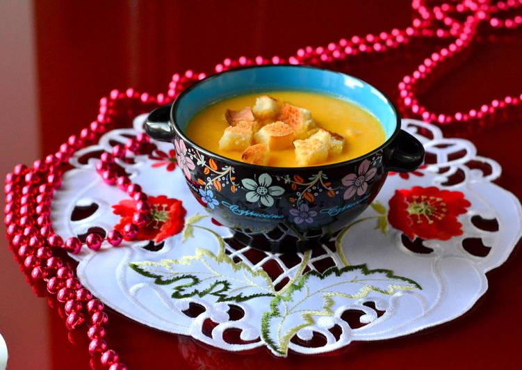 Суп-крем из кабачка