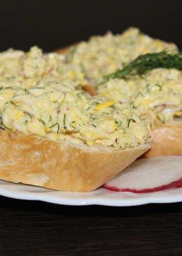 Закуска из редиса, сыра и яиц. Неповторимый пикантный вкус
