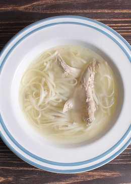 Суп из фазана с лапшой