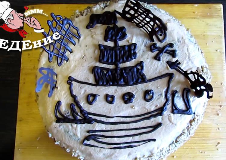 Торт Черная жемчужина для настоящих маленьких пиратов. Видео рецепт
